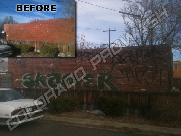 Denver Graffiti Removal